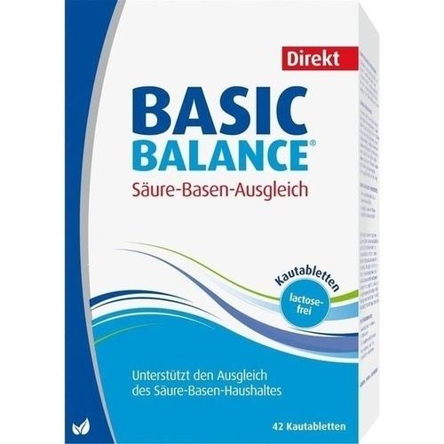 BASIC Balance Direkt Kautabletten, 42 ST, Hübner Naturarzneimittel GmbH