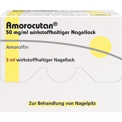 Amorocutan 50mg/ml wirkstoffhaltiger Nagellack, 6 ML, Dermapharm AG