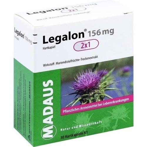 Legalon 156 mg, 30 ST, MEDA Pharma GmbH & Co.KG