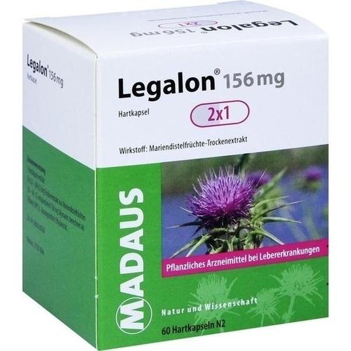 Legalon 156 mg, 60 ST, MEDA Pharma GmbH & Co.KG