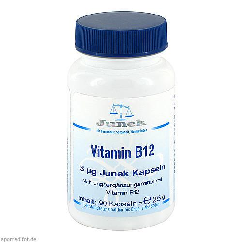 Vitamin B12 3 uG Junek Kapseln, 90 ST, Bios Medical Services