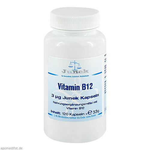 Vitamin B12 3 uG Junek Kapseln, 120 ST, Bios Medical Services