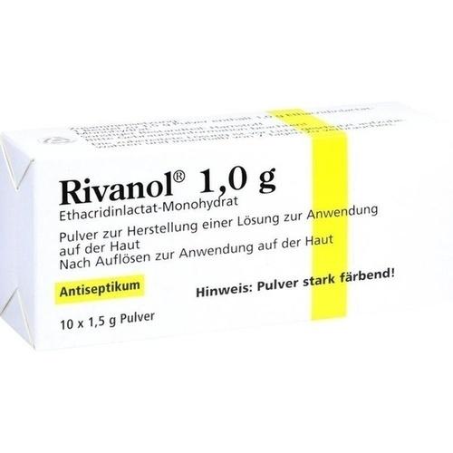Rivanol 1.0g Pulver, 10 ST, Dermapharm AG