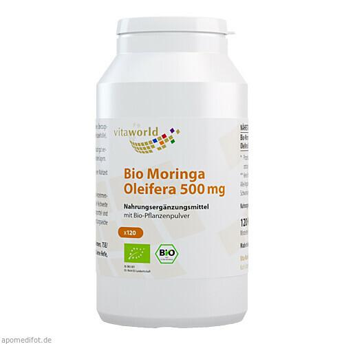 Moringa Oleifera 500mg, 120 ST, Vita World GmbH