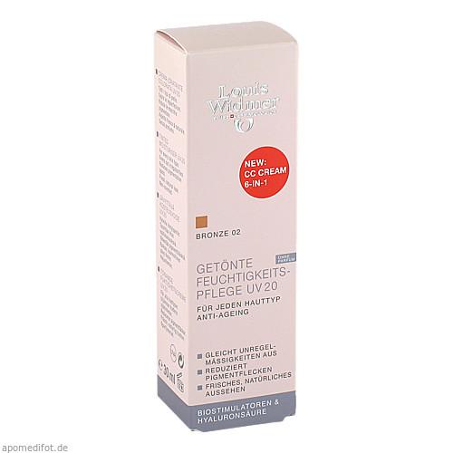 Widmer Get. Feuchtigkeitspflege UV20 CC Bron NP, 30 ML, Louis Widmer GmbH