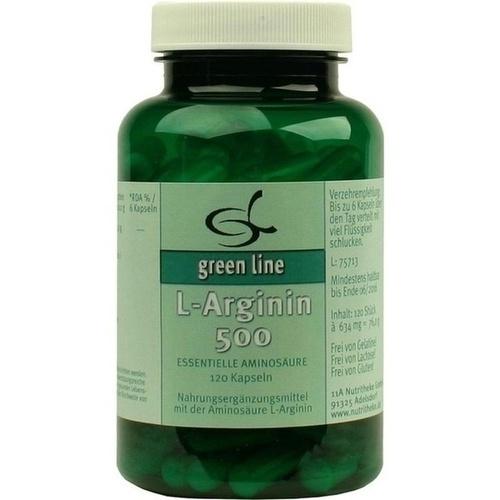 L-Arginin 500, 120 ST, 11 A Nutritheke GmbH