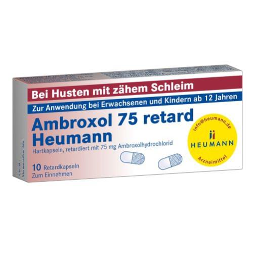 Ambroxol 75 retard Heumann, 10 ST, Heumann Pharma GmbH & Co. Generica KG