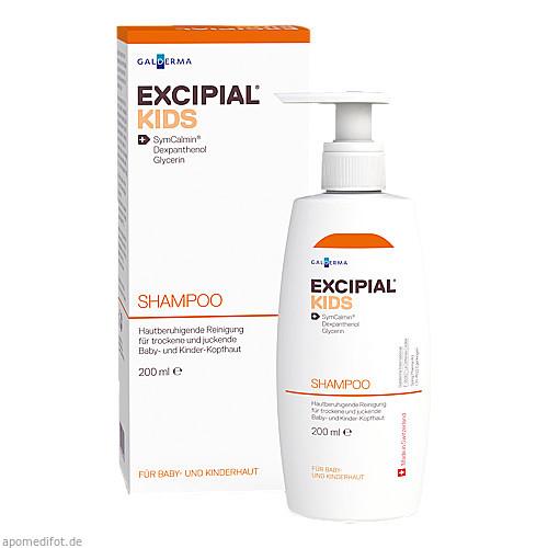 Excipial KIDS Shampoo, 200 ML, Galderma Laboratorium GmbH