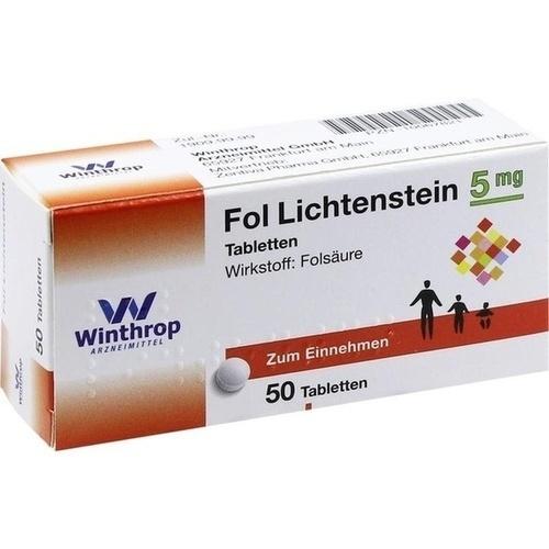 FOL Lichtenstein Tabletten, 50 ST, Zentiva Pharma GmbH