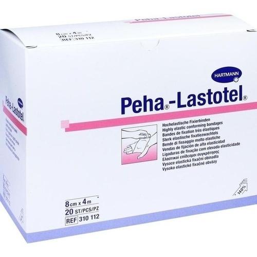 Peha-Lastotel Binde 8cmx4m, 20 ST, Paul Hartmann AG