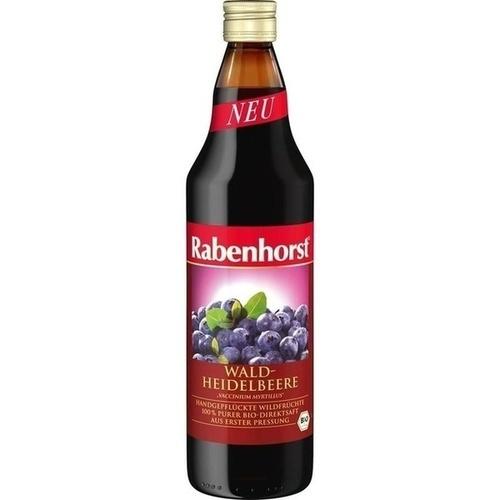 Rabenhorst Heidelbeer Muttersaft Bio, 700 ML, Haus Rabenhorst O. Lauffs GmbH & Co. KG