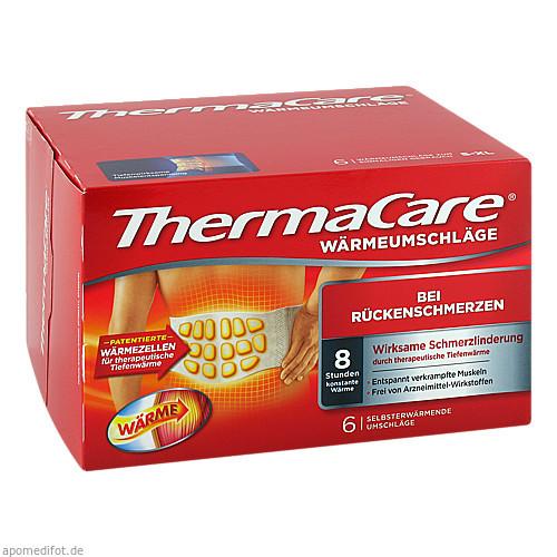 ThermaCare Rückenumschläge S-XL, 6 ST, Pfizer Consumer Healthcare GmbH