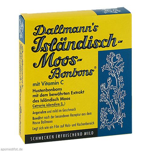 Dallmanns Isländisch Moos-Bonbons, 20 ST, Dallmann & Co. Fabr.Pharm.Präp. GmbH