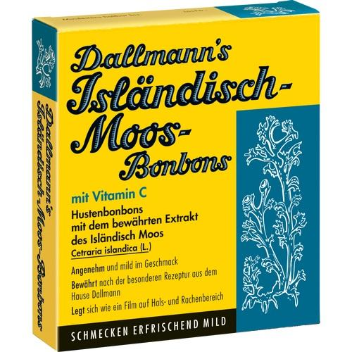 DALLMANN'S Isländisch Moos-Bonbons zuckerfrei, 20 ST, DALLMANN & Co. Fabr.pharm.Präp.GmbH