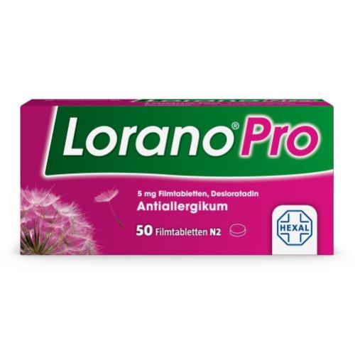 LoranoPro 5mg Filmtabletten, 50 ST, HEXAL AG