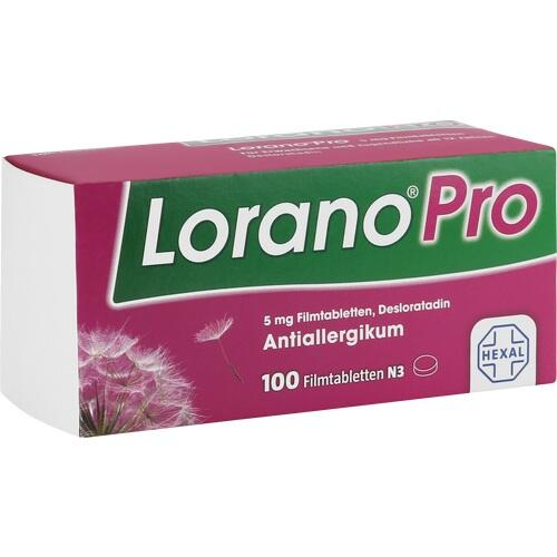 LoranoPro 5mg Filmtabletten, 100 ST, HEXAL AG