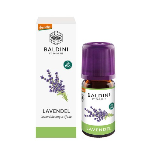 Baldini Lavendel fein BIO/Demeter im Umkarton, 5 ML, Taoasis GmbH Natur Duft Manufaktur