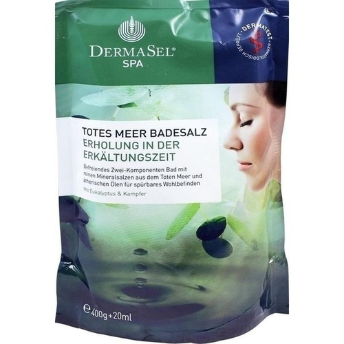 DermaSel Totes Meer Badesalz + Erkältungszeit SPA, 1 P, Fette Pharma AG