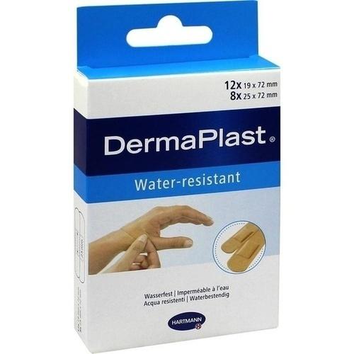 DERMAPLAST water-resistant Pflasterstrips 2 Größen, 20 ST, PAUL HARTMANN AG