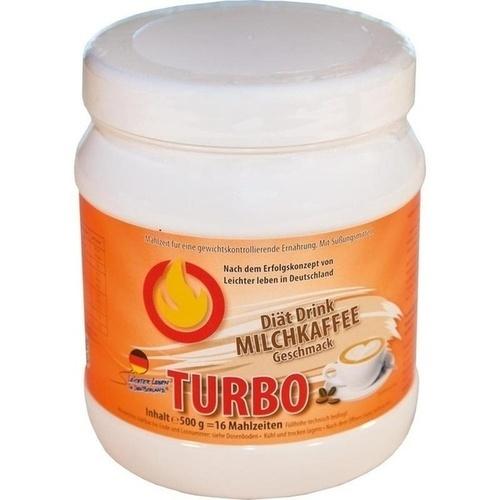 LLID Turbo Milchkaffee, 500 G, Leichter Leben Vertriebsgesellschaft mbH