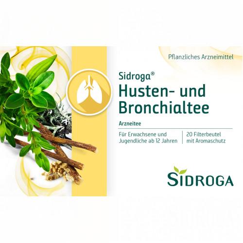 Sidroga Husten-und Bronchialtee, 20X2.0 G, Sidroga Gesellschaft Für Gesundheitsprodukte mbH