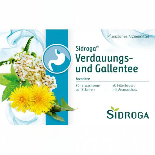 Sidroga Verdauungs-und Gallentee, 20X2.0 G, Sidroga Gesellschaft Für Gesundheitsprodukte mbH
