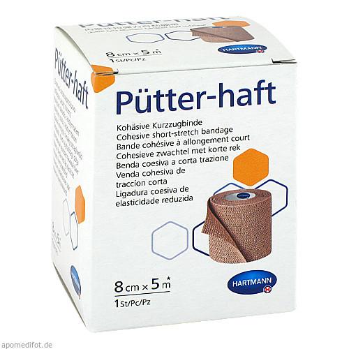 Pütter-haft Binde 8cmx5m, 1 ST, Paul Hartmann AG