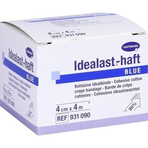 Idealast-haft color Binde 4cmx4m blau, 1 ST, Paul Hartmann AG