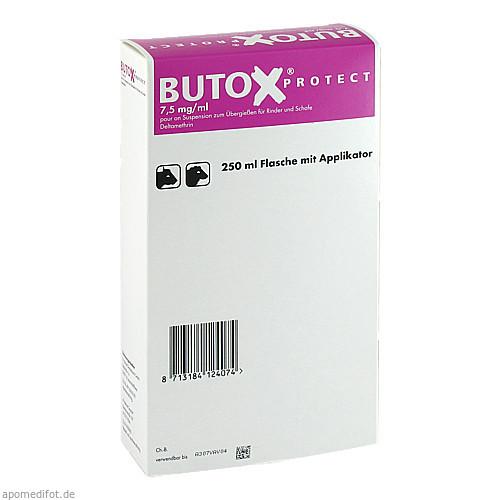 BUTOX Protect 7,5mg/ml pour on Sus.z.Überg.Ri+Sch., 250 ML, Intervet Deutschland GmbH