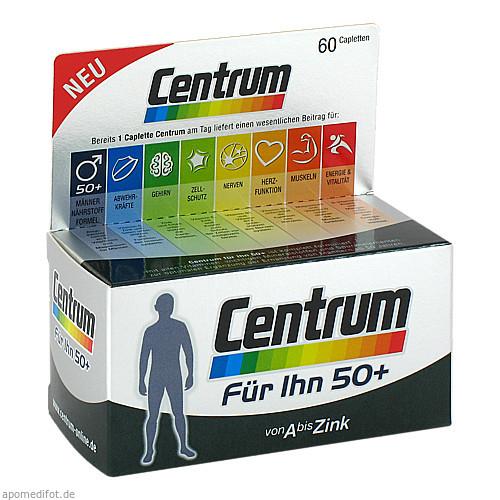 Centrum Für Ihn 50+ (Capletten), 60 ST, Pfizer Consumer Healthcare GmbH