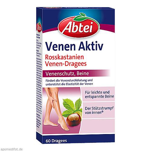 ABTEI Rosskastanie Venen Dragees, 60 ST, Omega Pharma Deutschland GmbH