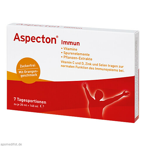 Aspecton Immun, 7 ST, Hermes Arzneimittel GmbH
