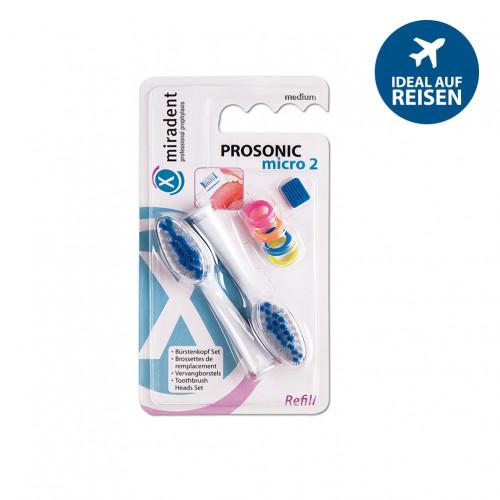 miradent PROSONIC micro 2 Refill, 1 ST, Hager Pharma GmbH