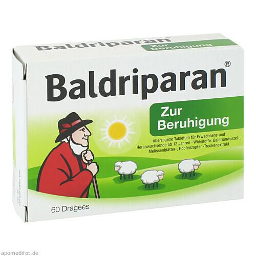 Baldriparan Zur Beruhigung, 60 ST, Pfizer Consumer Healthcare GmbH