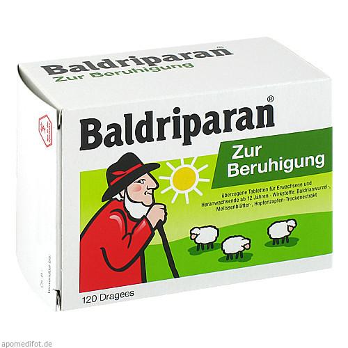 Baldriparan Zur Beruhigung, 120 ST, Pfizer Consumer Healthcare GmbH
