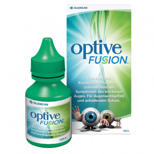 OPTIVE FUSION, 10 ML, ALLERGAN PHARMACEUTICALS INTERNATIONAL LIMITED