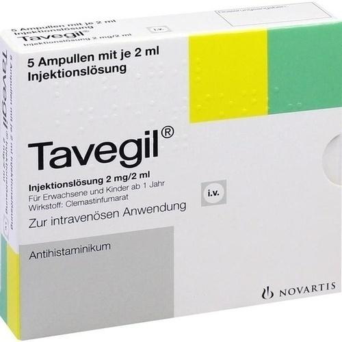 Tavegil Ampullen, 5X2 ML, Pharmore GmbH