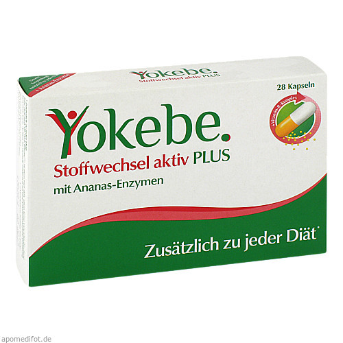 Yokebe Plus Stoffwechsel aktiv Kaseln, 28 ST, Naturwohl Pharma GmbH