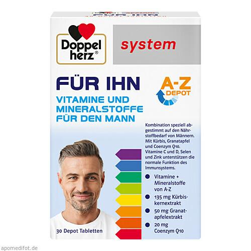 Doppelherz Für Ihn system, 30 ST, Queisser Pharma GmbH & Co. KG