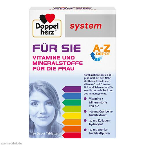 Doppelherz Für Sie system, 30 ST, Queisser Pharma GmbH & Co. KG