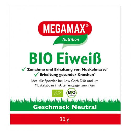 Bio Eiweiss Neutral Megamax, 30 G, Megamax B.V.