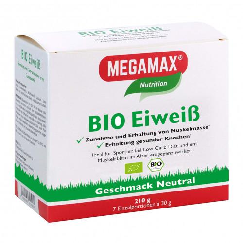 Bio Eiweiss neutral Megamax, 7X30 G, Megamax B.V.