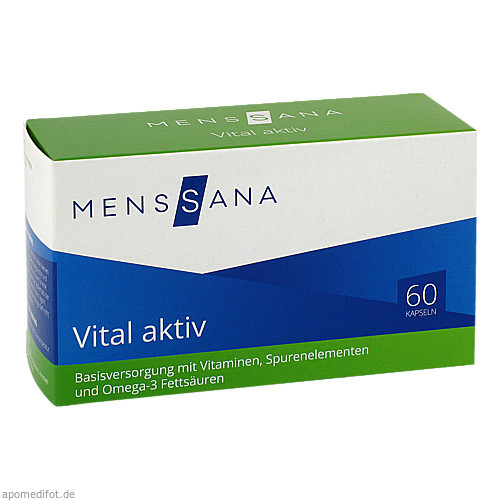 Vital aktiv MensSana, 60 ST, MensSana AG