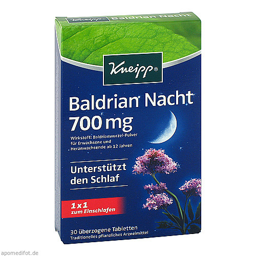 Kneipp Baldrian Nacht, 30 ST, Kneipp GmbH