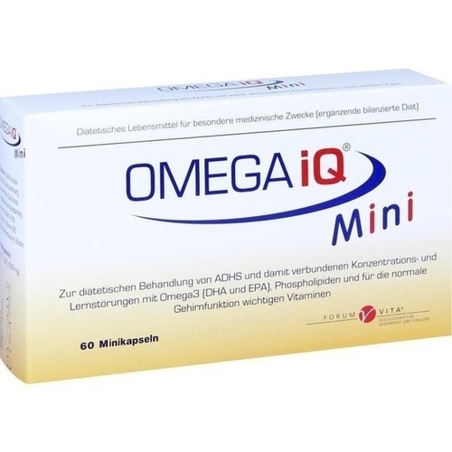 OMEGA iQ Mini, 60 ST, Forum Vita GmbH & Co. KG