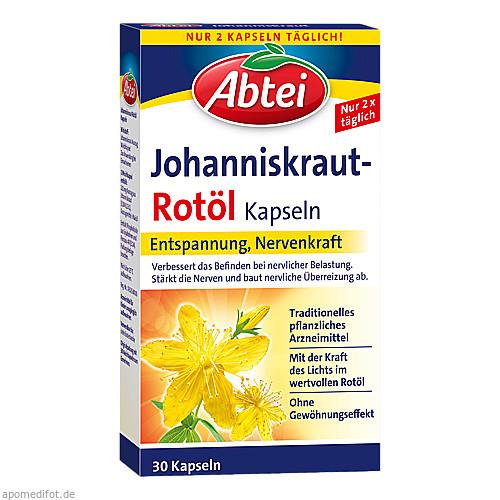 Abtei Johanniskraut-Rotöl Kapseln, 30 ST, Omega Pharma Deutschland GmbH