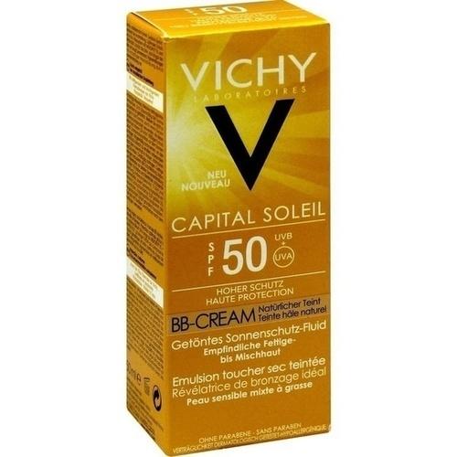 VICHY CAPITAL SOLEIL BB Fluid LSF50, 50 ML, L'Oréal Deutschland GmbH
