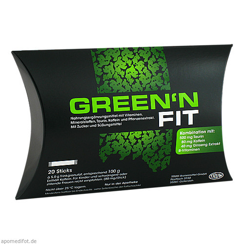 Green n FIT, 20 ST, Med Pharma Service GmbH
