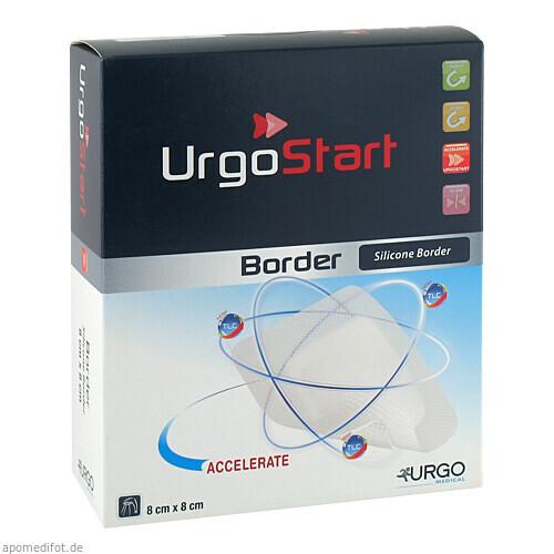 UrgoStart Border 8x8cm, 10 ST, Urgo GmbH