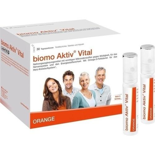 BIOMO Aktiv Vital Trinkflaschen 30-Tagesportionen, 1 ST, biomo-vital GmbH